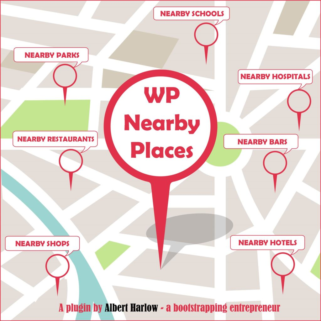 WP Nearby Places Logo