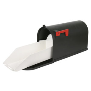 EZ Mail Mailbox Tray Invented by Albert Harlow