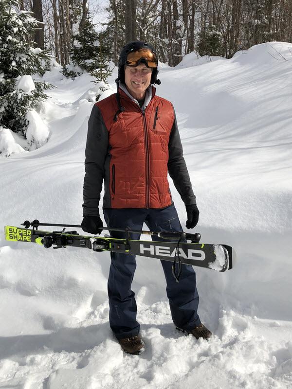 John Vacovec Ski Carrier
